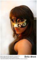 The Mask by Della-Stock