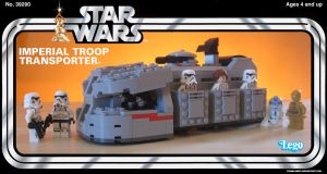 Kenner Imperial Troop Transporter by franklando
