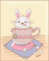 A cup of... Bunny by yuki-the-vampire