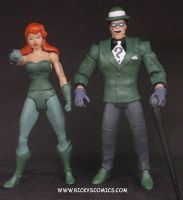 Poison Ivy Animated Figure by guyman80