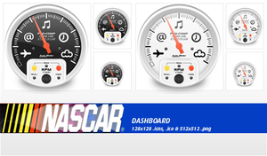 Dashboard Nascar icon by whyred