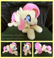 Fluttershy Plushie by haselwoelfchen