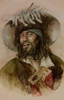 Hector Barbossa by KikutaMishieru