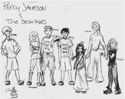 Percy Jackson and the StarKids by fabala-the-artist