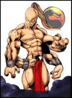 Goro in full color by DW-DeathWisH