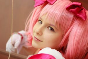 Madoka Kaname, Face of an Angel at Ikkicon VIII by firecloak