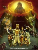 Monty Python and the Holy Grail print by DadaHyena