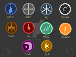 Element Badges by KaiKudo