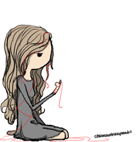 red string of fate by hannuss