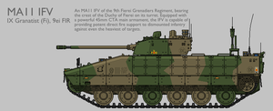 MA11 MAV(T) IFV Production Standard [Coloured] by SixthCircle