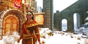 Opulent Outfits - Mage Robes of Winterhold by Iazcutler