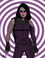 Kate Bishop-Hawkeye by tsbranch