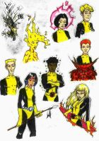 New Mutants by Ianvincible