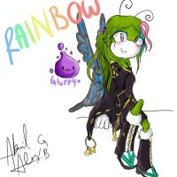rainbow y gluppy by kokoriste1