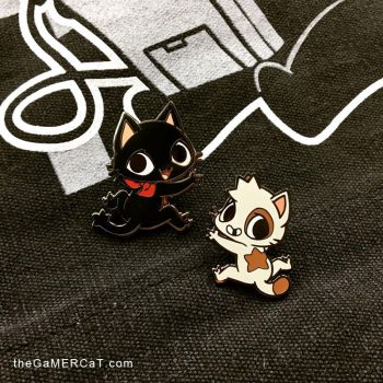 The GaMERCaT Enamel Pins by celesse