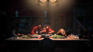Dinner with the (Former) Prodigal Son by RandomMadnessityfier
