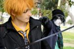 Bleach Winter Ulquiorra VS Ichigo - the SC Cosplay by theSCcosplay