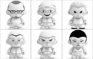 Munny Sketches 4 by MattNeutron