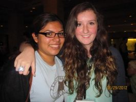 Me and Ciera Turner, Vidcon by ILoveCP
