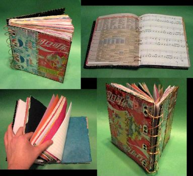 Soda Can Journal by Madelei