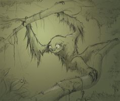 Sloth and Bug by Domiticus