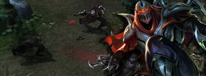 Zed Facebook Cover by Helryu