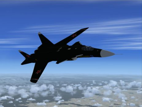 FSX Sukhoi Su-47 Berkut by shelbs2