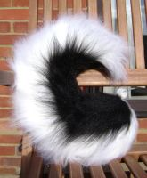 Curly Black Husky Tail by NecoStudios