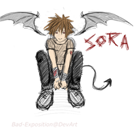 Emo Sora by bad-exposition