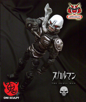 ONI SCULPT : THE SKULLMAN by wongjoe82