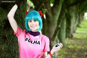 Dragonball: Bulma Cosplay by viewtifu1