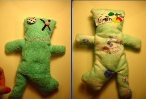 Garth the plushie by PortionsOfFoxes