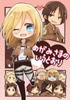 Attack on titan Christa Chibi by AtackOnTitan