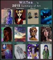 Art of 2015 by WitTea