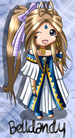New Chibi Style - Belldandy by Frostielichious