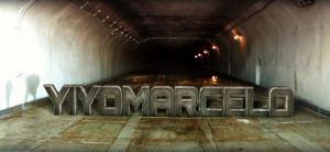 My name at a tunnel by yiyo-marcelo