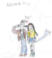 Request: Nico and Penny by FallenTributes