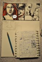 Step-by-step: Joker Comic by rawenna