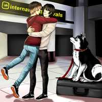 Back home -Chris and Rein by Bluepoopinpanda