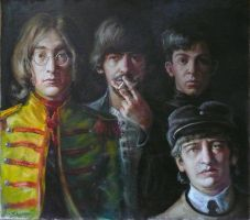 The Beatles by Shatiloff