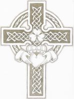 claddagh cross by adumb