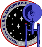 USS Enterprise NCC-1701 Legacy Insignia by viperaviator