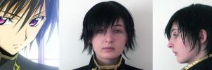 Lelouch Wig, Restyled by X-VelvetRainDrops-X