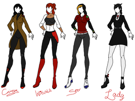 DC: Costume Redesigns by KorporalKitty