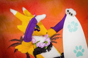Renamon at Eurofurence 19 - 2 by Sethaa