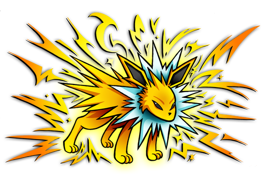 Jolteon - Discharge by NekoAmine
