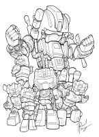 COMBATICONS by dGREAT1