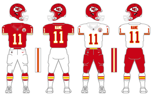 Nike Elite 51 Chiefs Uniform Tweak by SimplyMoono