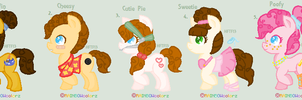 :OTA: CheesePie Foal Adopts :2 LEFT: by HopeForTheFuture13