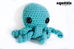 NEW blue octopus by candypow